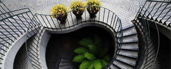 Фото лестницы из железобетона