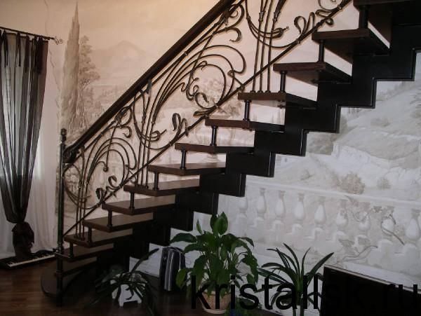 Фото лестницы на косоурах