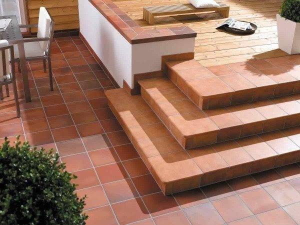 Фото облицовки на ступенях