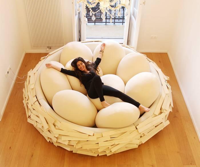 Диван-гнездо
