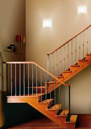 Лестница с поворотом на 180 своими руками 637
