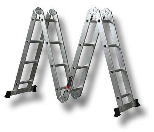 Лестница трехсекционная – новое решение вечных проблем