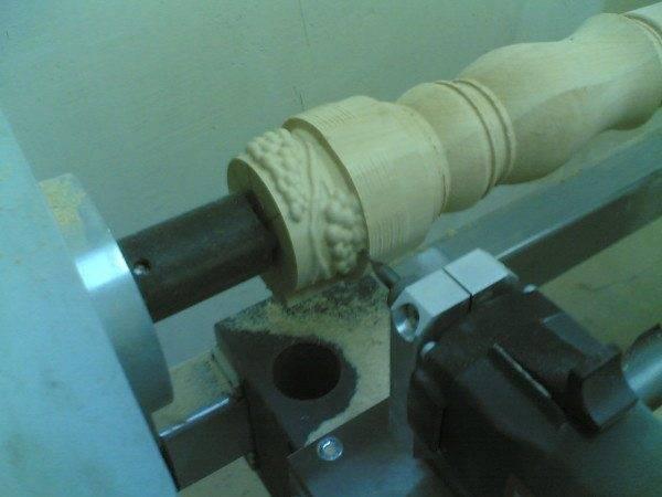 Изготовление фигурной балясины на фрезерном станке