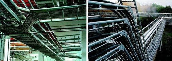 Кабельросты в системе энергоснабжения предприятия.
