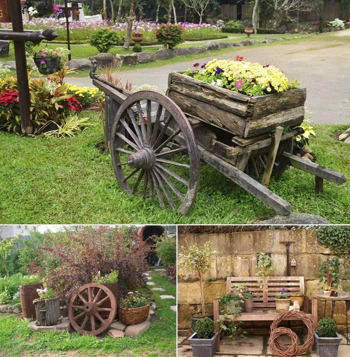 Сады в стиле кантри