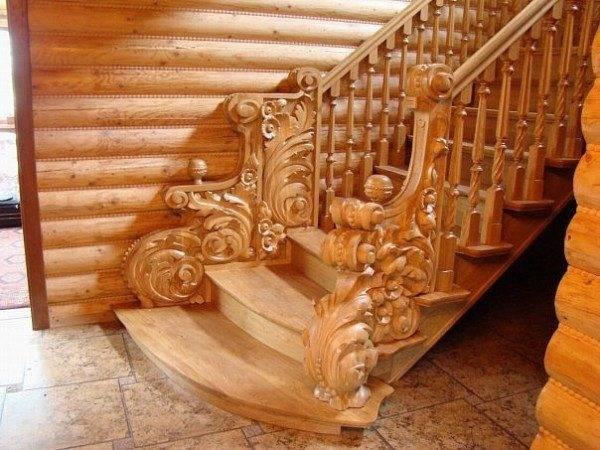 Красивая лестница своими руками