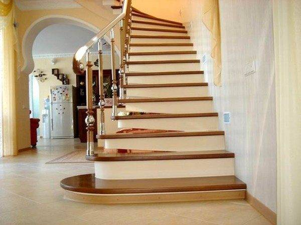 Красивые и оригинальные ступени