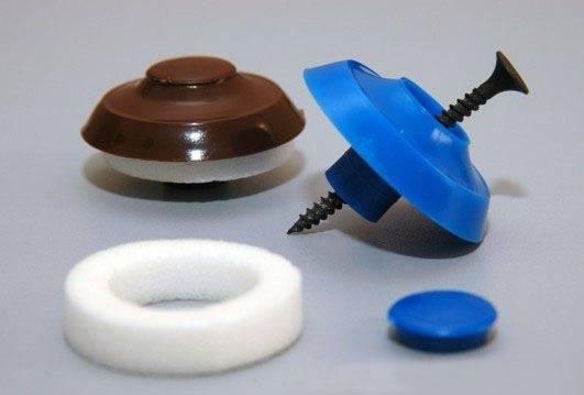 Крепежная фурнитура для ячеистого пластика
