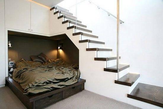 Кровать-шкаф в разложенном положении