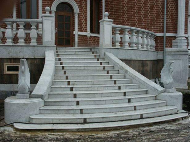 Крыльцо – центральный декоративный элемент коттеджа