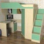 Лестница-комод для чердака-кровати