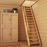 Лестница с перилами стандарт ЛМ-02