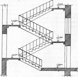 Лестничная клетка многоквартирного дома