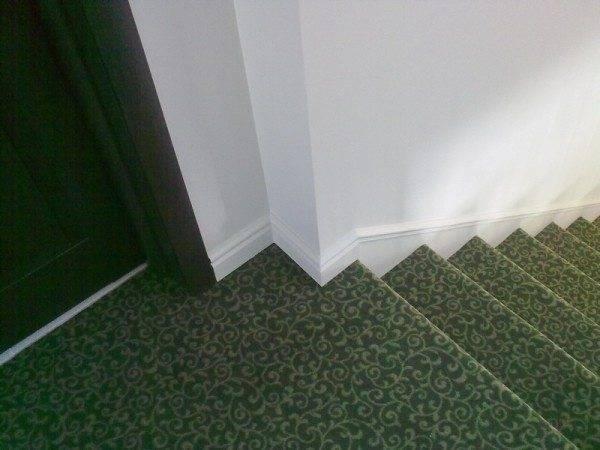 Лестница после укладки