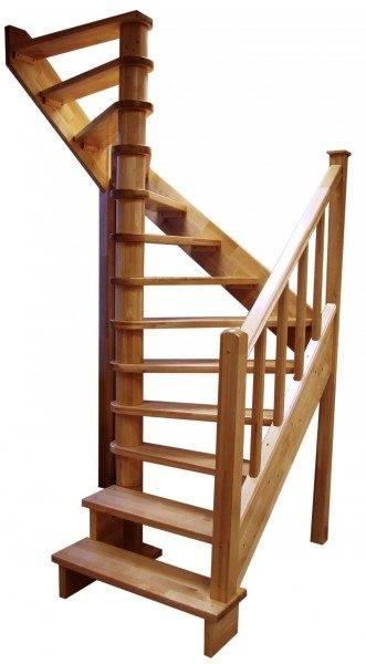 Лестница с центральным опорным столбом