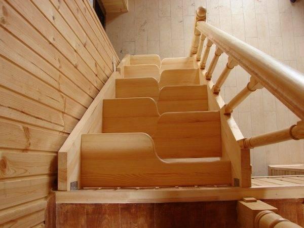 Лестница «Утиный шаг» (вид сверху)