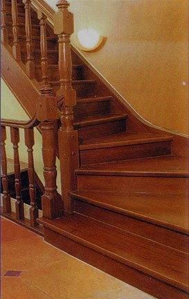 Лестница в дом своими руками с забежными ступенями