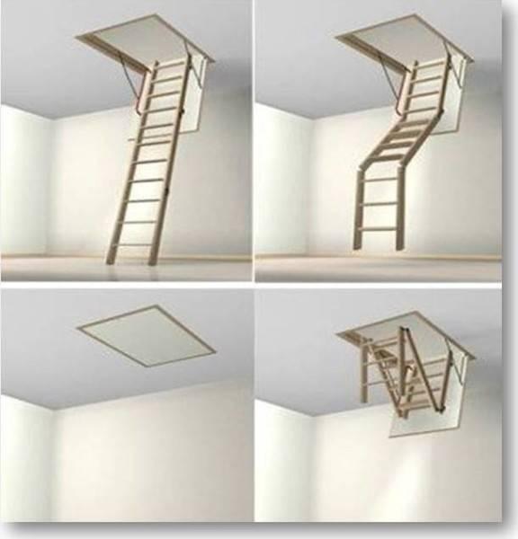 Лестница вкладная