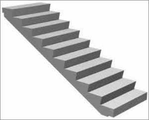 Лестницы Ж Б вверху и внизу уже конструктивно изготавливаются с целью удобной фиксации на обоих этажах здания – обратите внимание на фото, верхняя и нижние ступени уже имеют установочные пазы