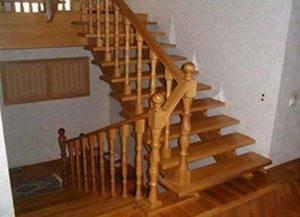 Маршевая лестница для дачи - своими руками сконструирована