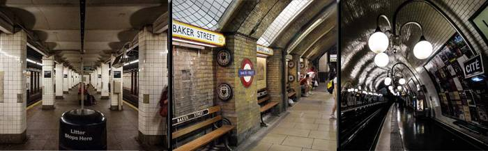 Три станции метро