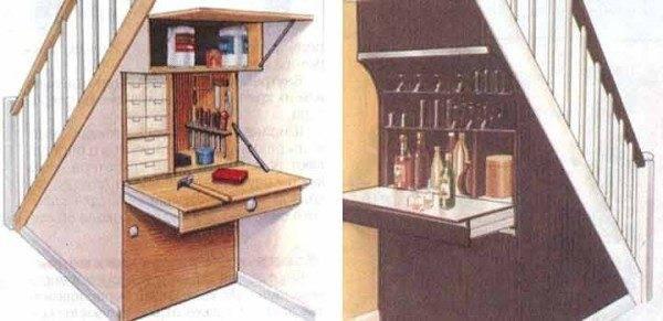 Мини-мастерская и мини-бар