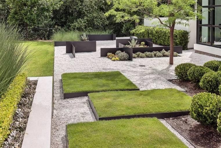 Минимализм в саду