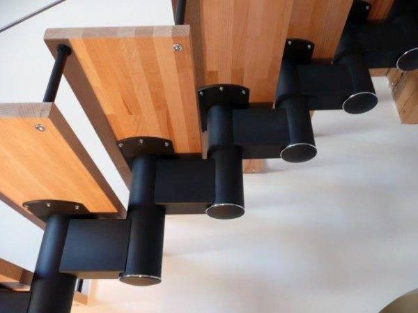Модульные изделия состоят из отдельных деталей, которые собирают наподобие конструктора.