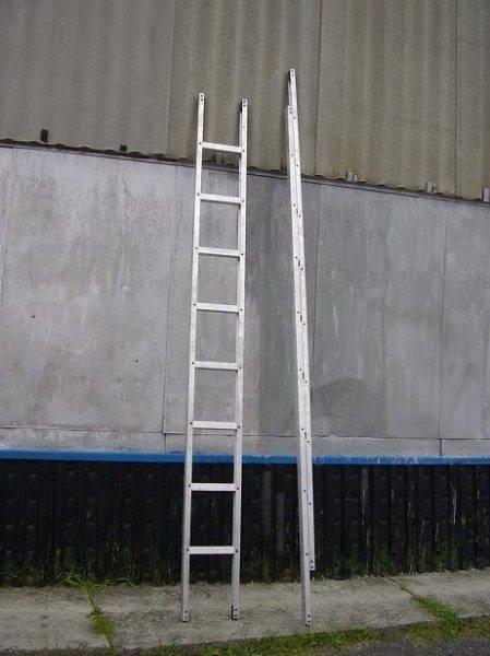На фото - лестницы ЛП в компактном и развернутом виде.