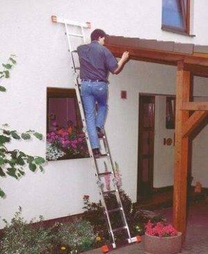 Лестница для крыши: делаем сами