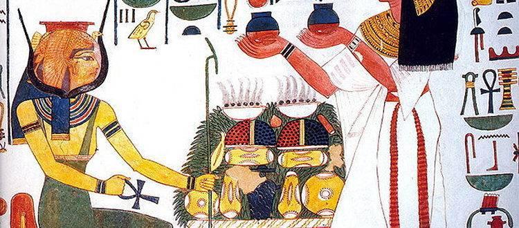 Кухня древнего Египта