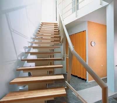 Не стоит думать, что железные лестницы для дома это – «звон металла», в вашем распоряжении вся гамма отделочных материалов, но основа всего – конструкция из железа