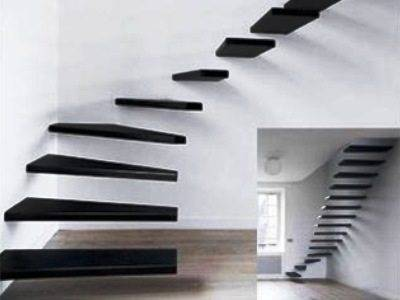 Железная лестница – гарант надёжности с тем «количеством» дизайна, который вы сами захотите