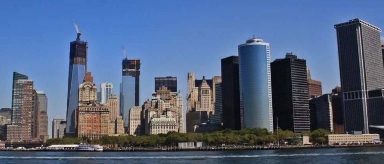 Небоскребы Нью-Йорка