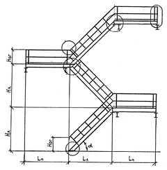 Обведенные кружками соединения - сварные, усиленные для большей жесткости дополнительными элементами.