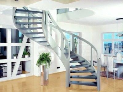 Оригинальная металлическая винтовая лестница + своими руками, а это уже большой плюс в ваш бюджет