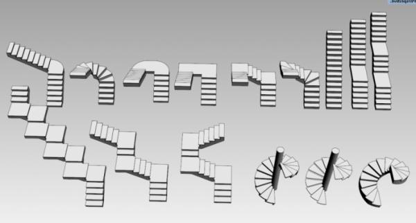 Основные виды лестничных конструкций