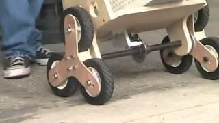 Перевозка грузов по ровной поверхности.