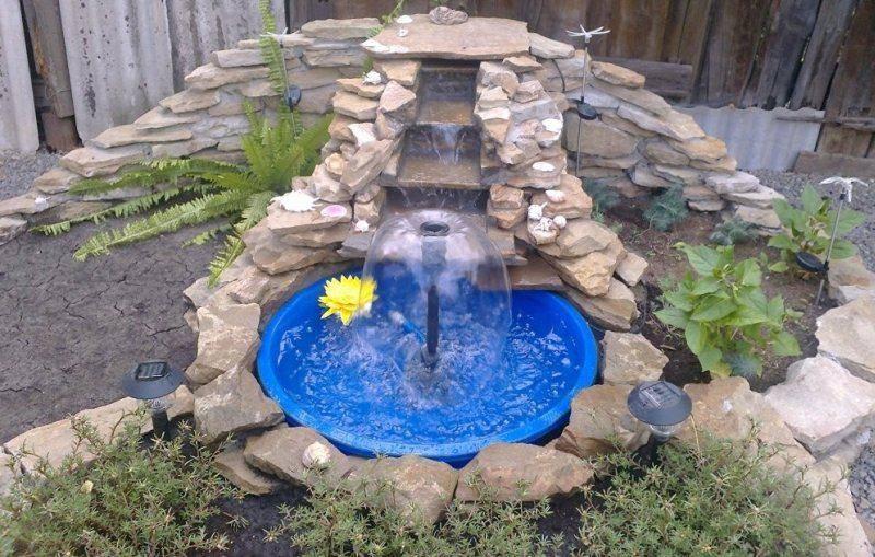 Голубой фонтан