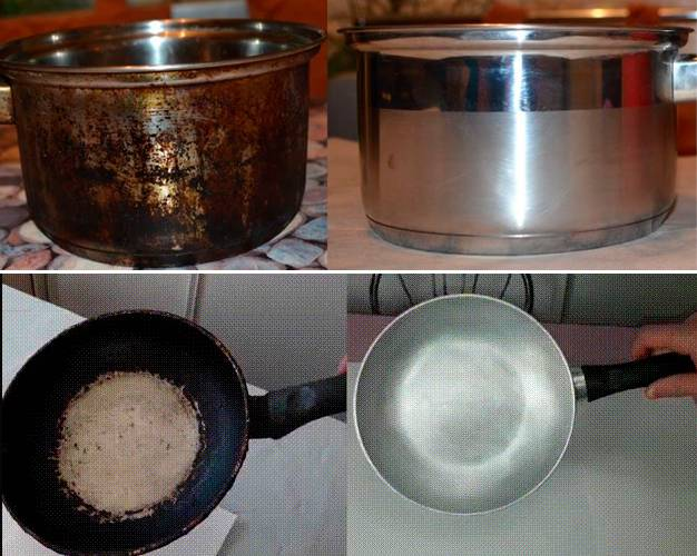 Чистка посуды