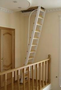 При недостатке площади стационарная лестница может получиться очень крутой