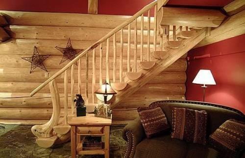 Простенький, но комфортный дизайн комнаты для гостей