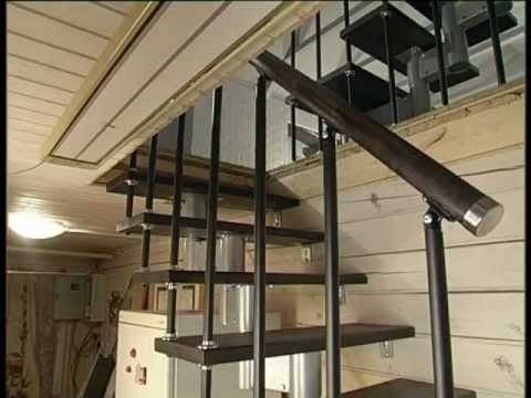 Что такое наборная лестница