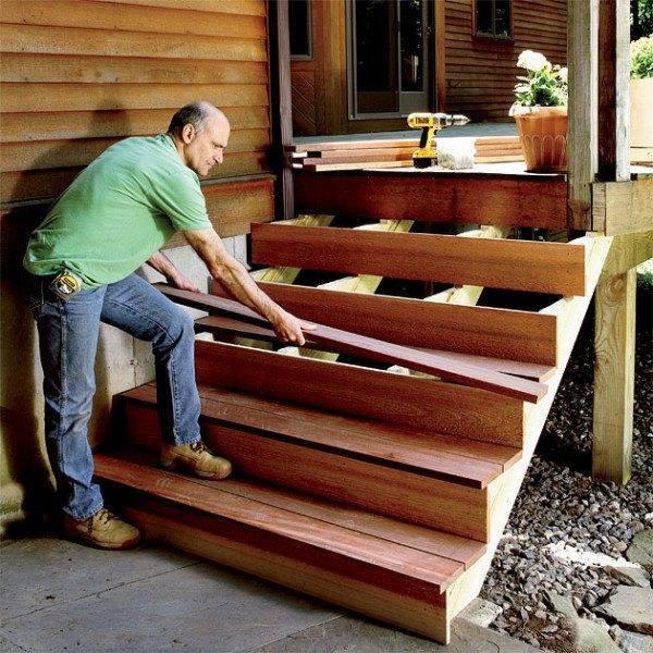 Монтаж деревянной лестницы своими руками – выполняем работы самостоятельно