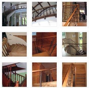 Различные типы сооружения лестниц