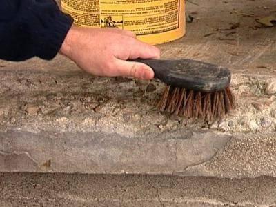 Ремонт бетонных ступеней крыльца процесс несложный