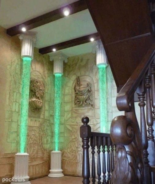 Роскошная лестница - роскошный интерьер