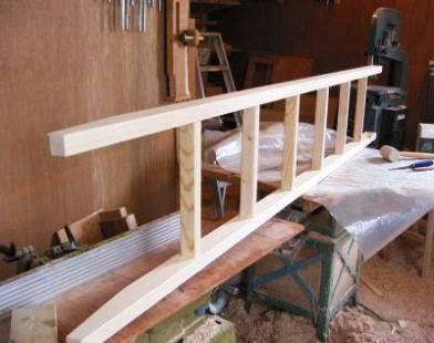 Самодельная деревянная конструкция