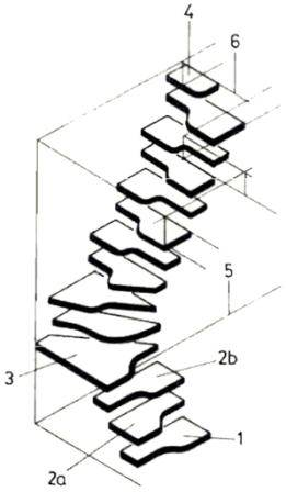 Схема-чертеж лестницы