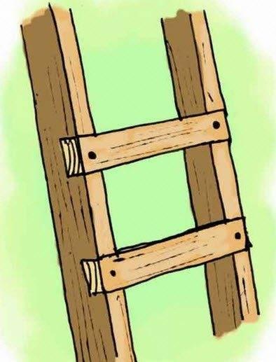 Схема с заглубленными ступенями
